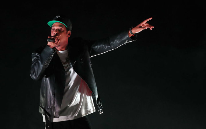 Jay-Z performs on his 4:44 Tour