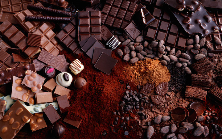 Variety of cocoa and chocolate