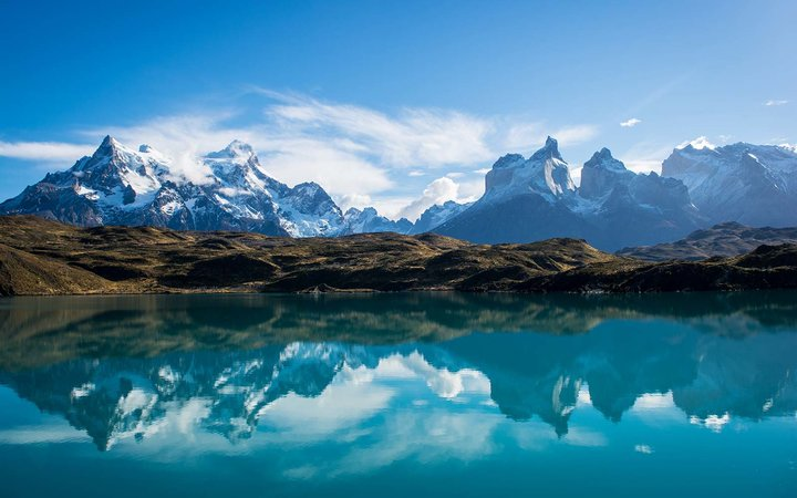 Torres Del Paine National Park Trail Trek Patagonia Chile
