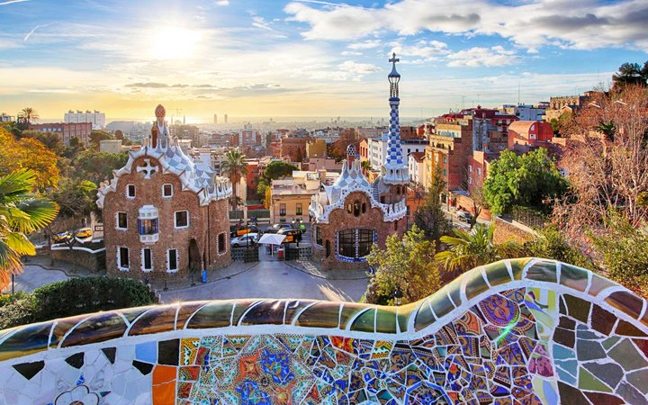 Barcelona Parc Guell Spain