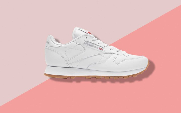 Reebok's Classic Leather White Sneaker