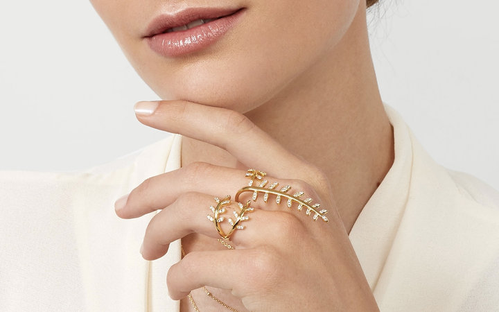 BaubleBar Peacemaker Ring