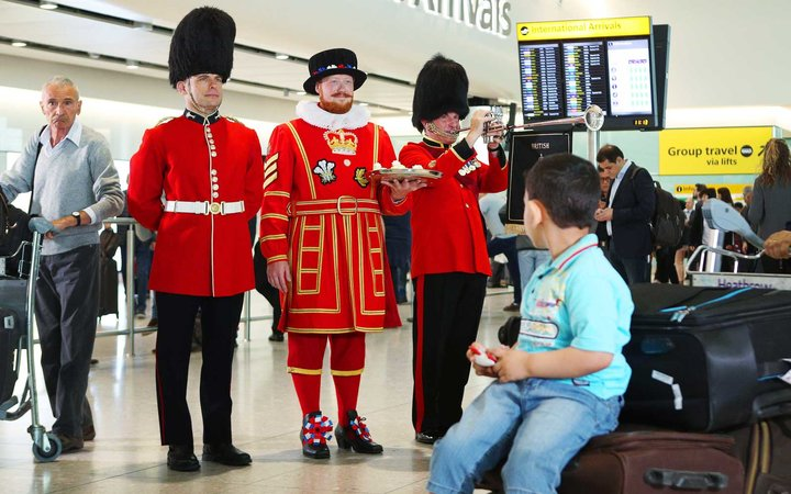 Heathrow Airport will be celebrating the Royal Wedding with treats for travelers and live in-terminal broadcasts of the wedding ceremony