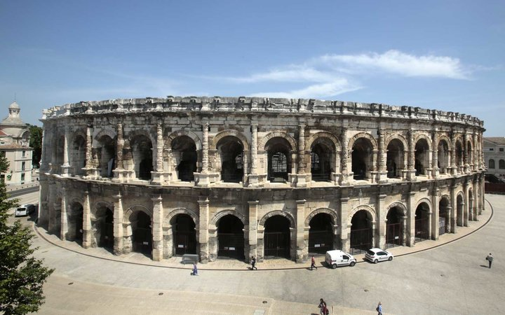 Musee De La Romanite Opens In Nimes