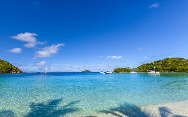 Salt Whistle Bay is one of the most famous and photographed beaches of the Grenadines