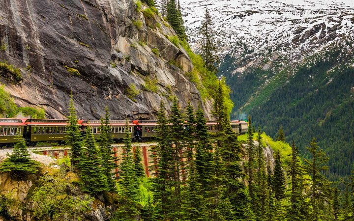 White Pass and Yukon Route Train