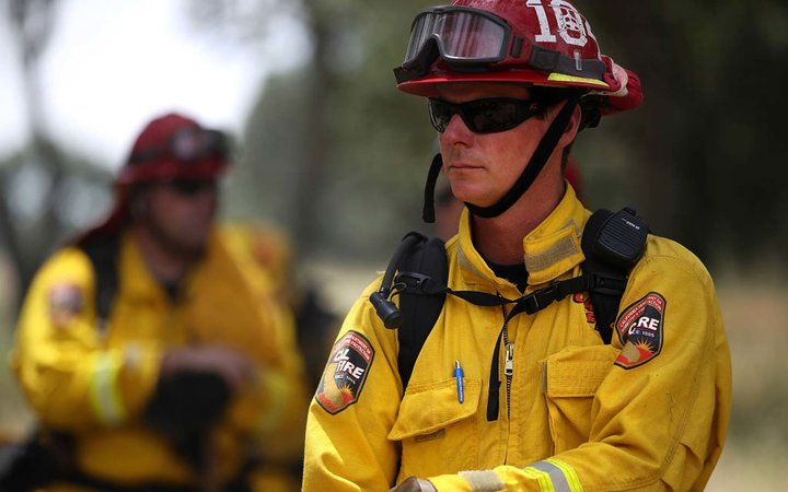 Cal Fire Conducts Controlled Burn In Sonoma Valley