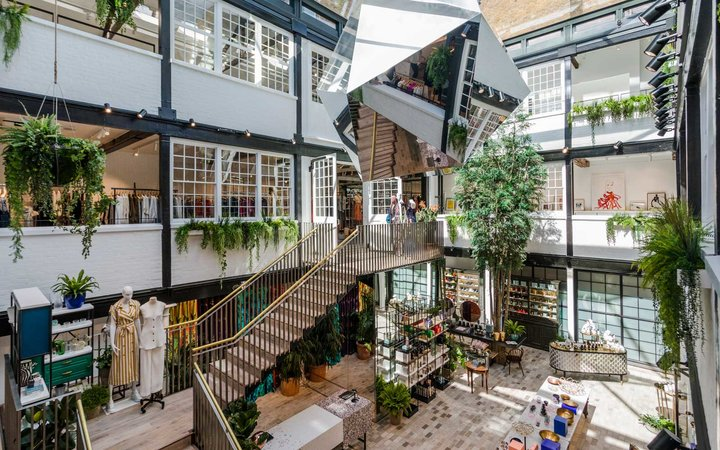 Scenes from London's Covent Garden