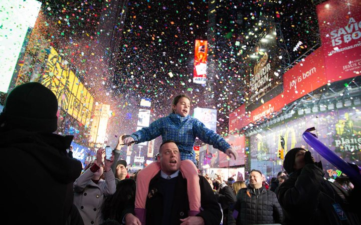 New York City, Times Square, New Year's Eve Celebration