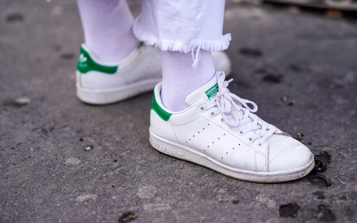 Stan Smiths on the street in Paris