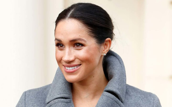 Meghan, Duchess of Sussex visits the Royal Variety Charity's Brinsworth House