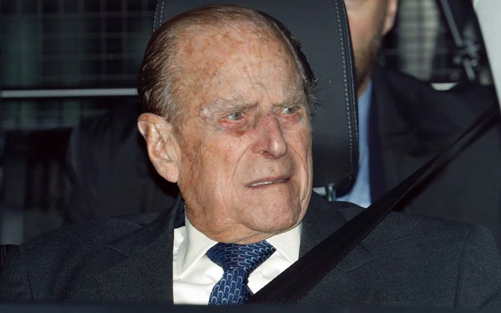 Prince Philip, Duke of Edinburgh attends a Christmas lunch for members of the Royal Family hosted by Queen Elizabeth II at Buckingham Palace