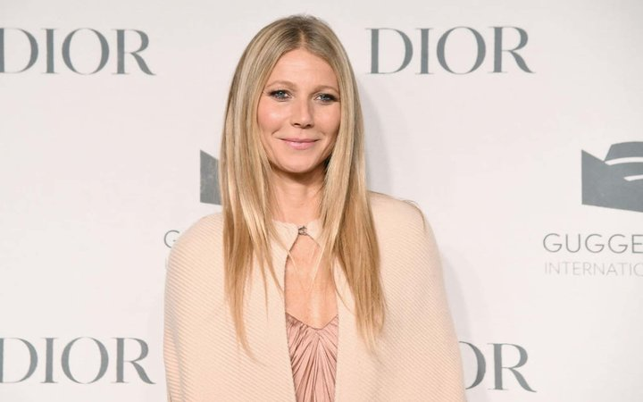 Gwyneth Paltrow attends the Guggenheim International Gala Dinner