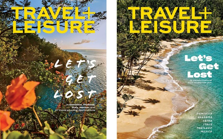 Travel + Leisure 2019 covers
