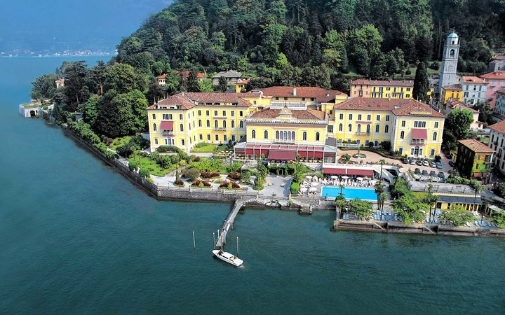 Travel + Leisure's picks for the Best Resorts in Italy - pictured: Grand Hotel Villa Serbelloni
