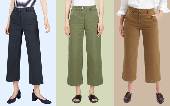 everlane wide leg pants