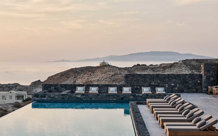 Best Resorts in Greece, as voted by the readers of Travel + Leisure magazine (shown: Canaves Oia Epitome)