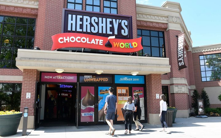 Hershey's Unwrapped at Hershey's Chocolate World