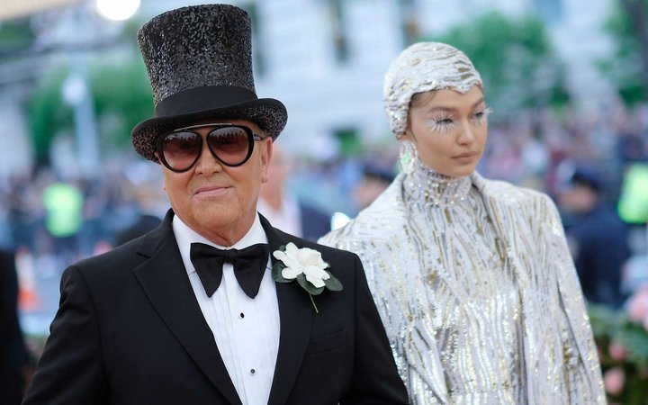 Michael Kors and Gigi Hadid attend The 2019 Met Gala