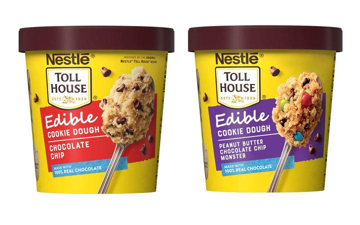 Nestlé Toll House Unveils Tubs of Cookie Dough That Are Totally Safe to Eat Raw