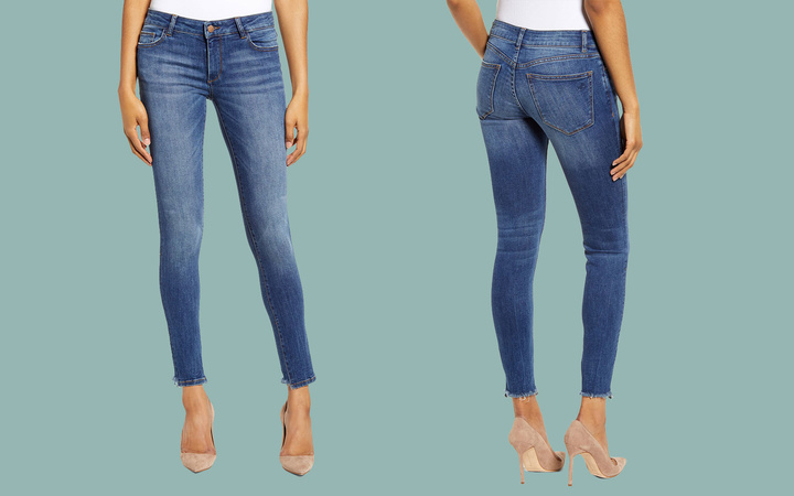 DL1961 Emma Skinny Jeans Lead