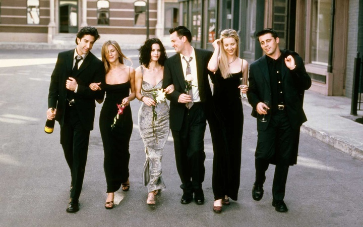 Friends, television cast