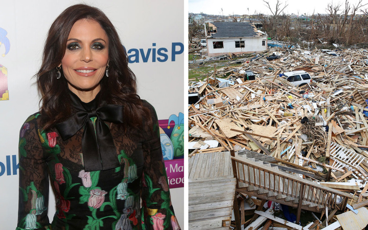 Bethenny Frankel Reveals Devastation Caused by Hurricane Dorian as She Touches Down in the Bahamas