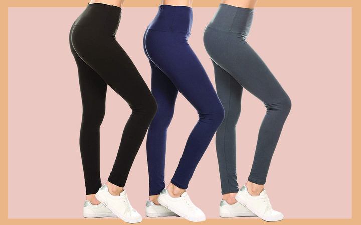 Leggings Depot's high-waisted Soft and Slim leggings