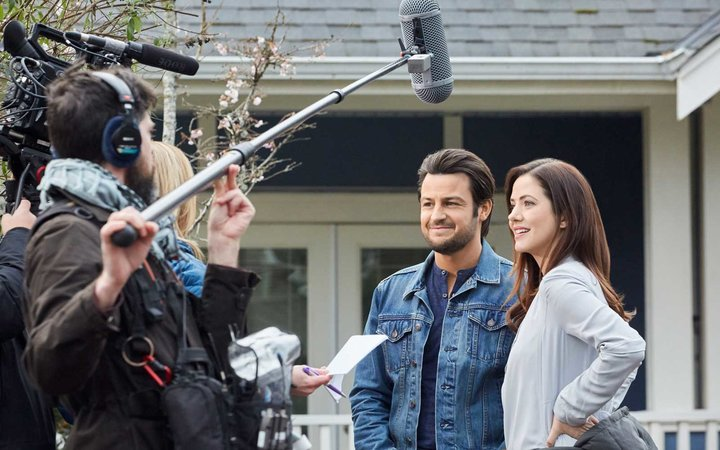 Filming a Hallmark Channel movie