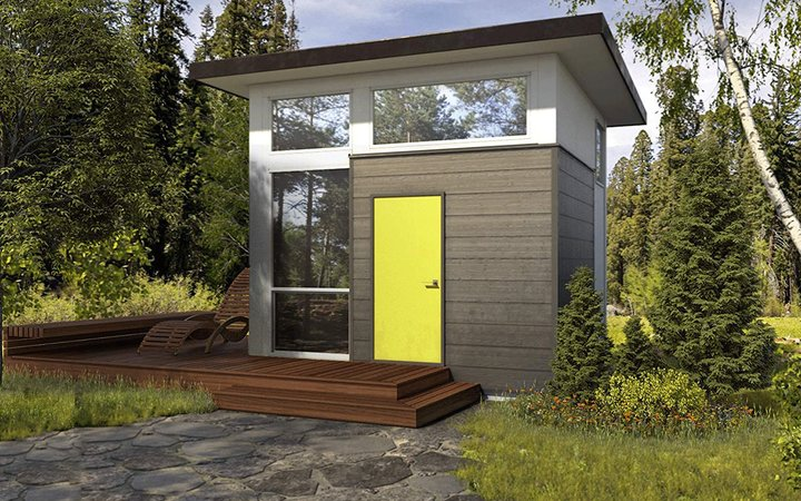 Nomad micro home exterior