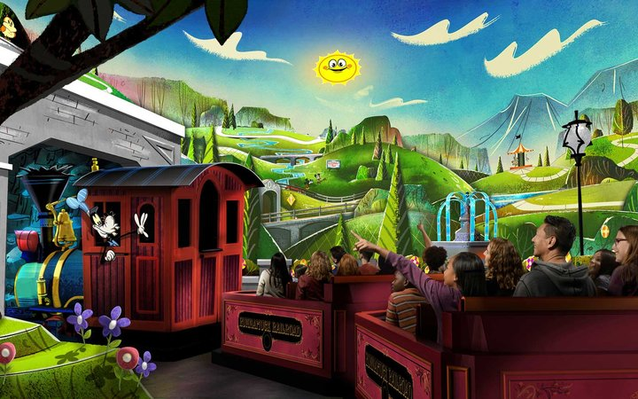 Disney World Mickey and Minnie's Runaway Railway