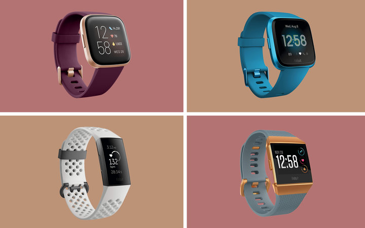 Fitbit Smart Watch Collage Tout