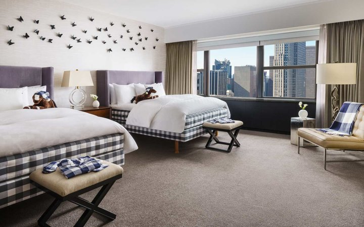 Lotte NY Palace Ultimate Sleep Suite