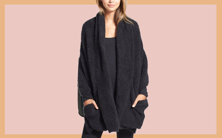 Barefoot Dreams® CozyChic™ Travel Shawl Tout