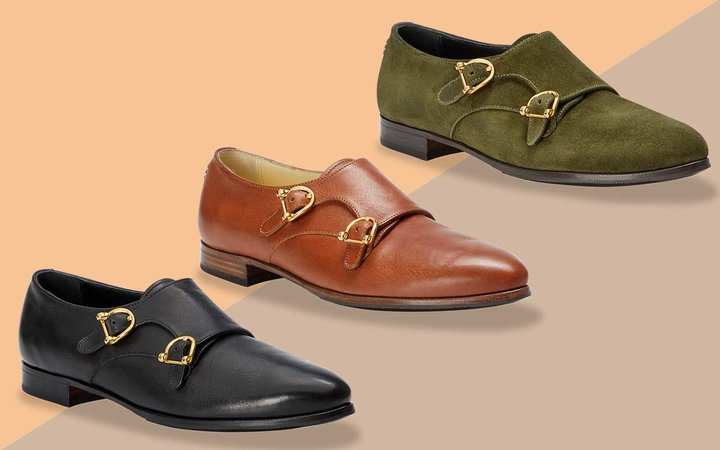 Black, Brown, and Dark Green Women's Loafers