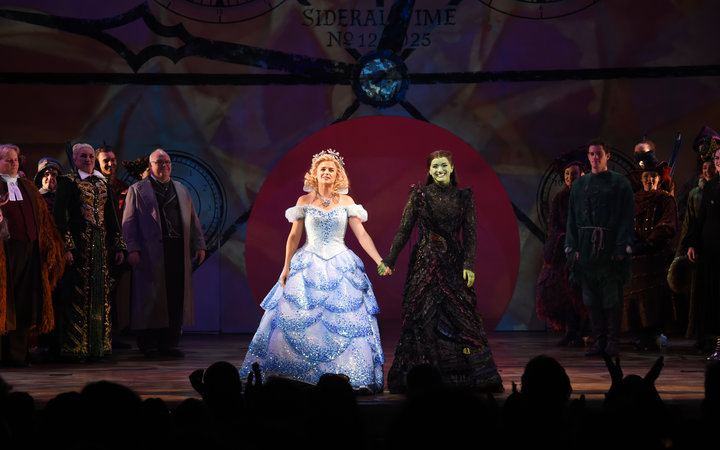 Wicked the musical cast