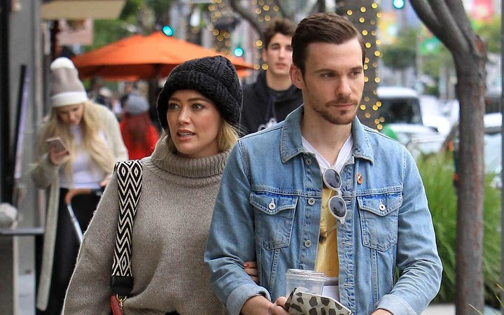 Hilary Duff and husband Matthew Koma