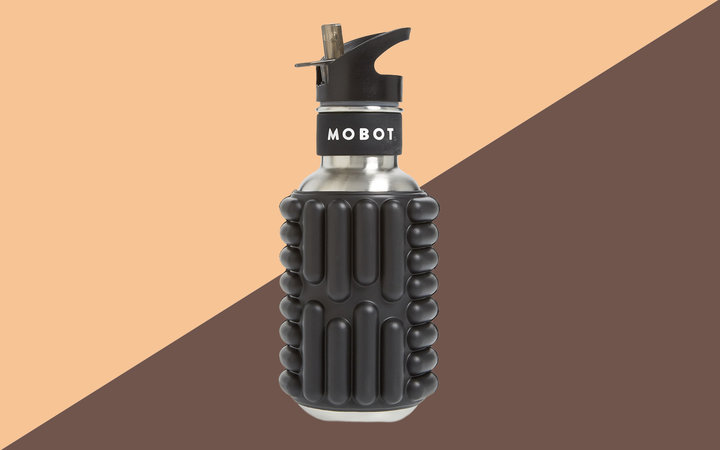 MOBOT Firecracker 18-Ounce Foam Roller Water Bottle Tout