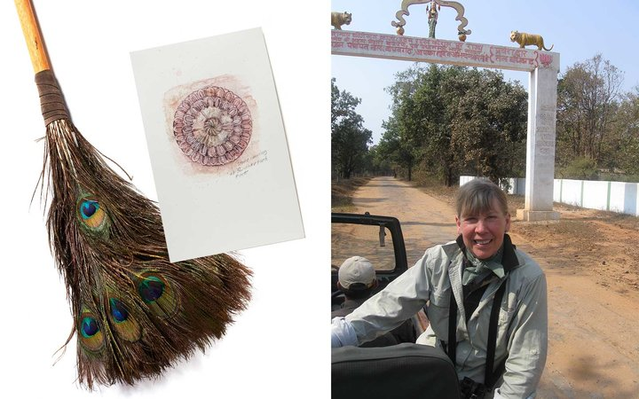 Jan Brett on traveling to India for her book The Tale of the Tiger Slippers