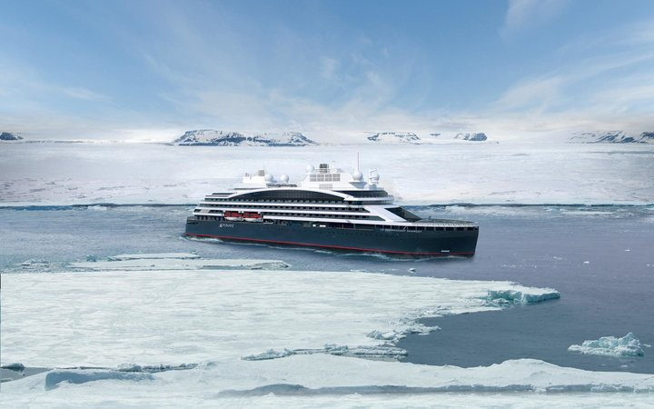 Ponant's new hybrid cruise ship