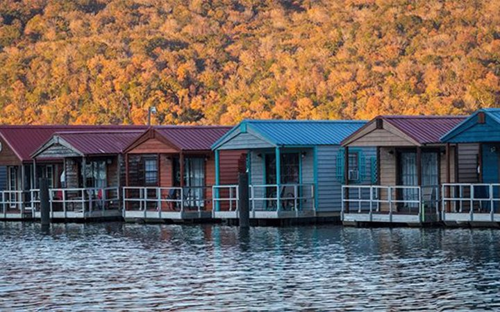 Hales Bar Marina & Resort Floating Cabins