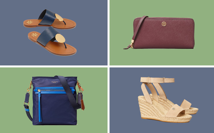 Tory Burch Collage Tout