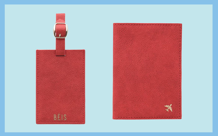 Luggage Tag & Passport Holder BÉIS