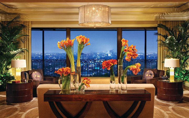 Beverly Wilshire Hotel Suite