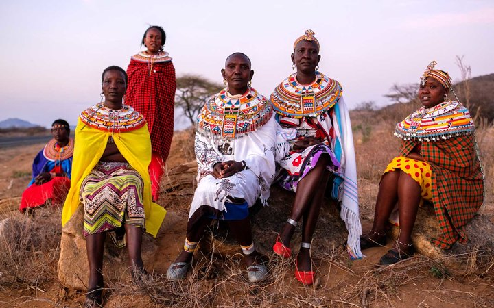 The Samburu Women