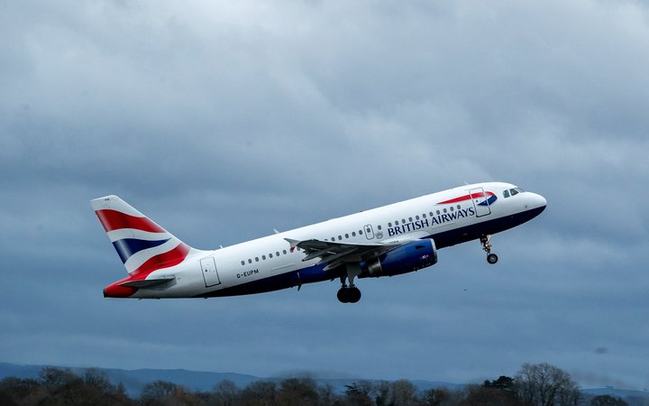 British Airways Airbus A319-13