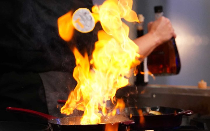 Top Chef Food and Wine Festival Quickfire Challenge