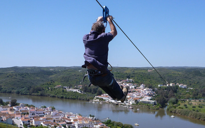 New Zipline Connects Spain and Portugal