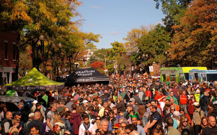 Harvard Square Oktoberfest and HONK! Parade