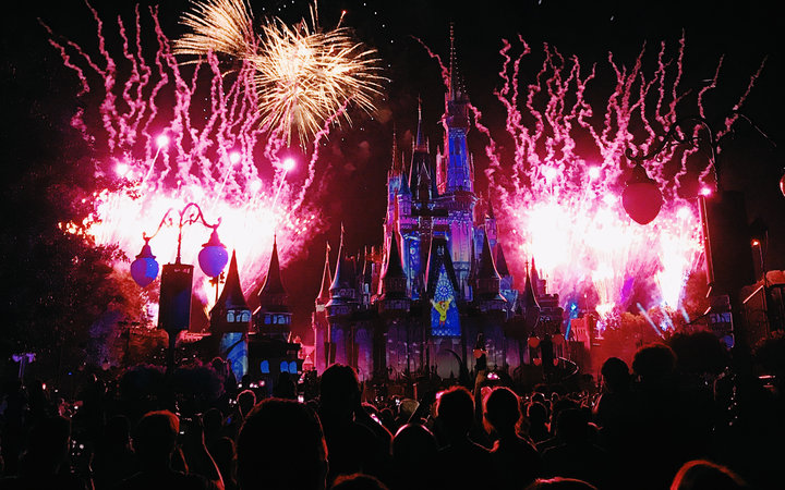 Happily Ever After Fireworks Show Disney World